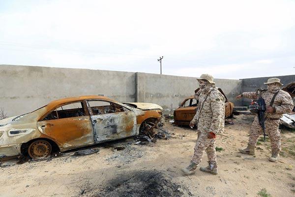 破坏停火协议! 利比亚首都再现民兵组织冲突已致10死41伤