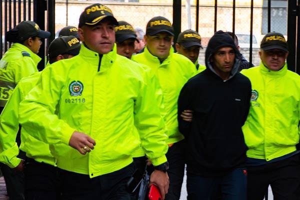 哥伦比亚警察学院爆炸案致21死68伤 嫌犯被押送至司法中心