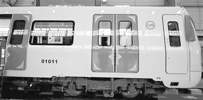 国内最轻铝合金地铁列车下线 最高时速达80公里