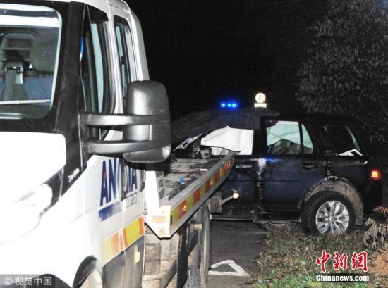 英菲利普亲王车祸后确认未受伤 事发道路下调限速