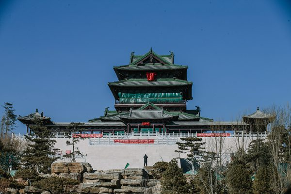 北京世园会倒计时100天 主体建筑已进入布展阶段