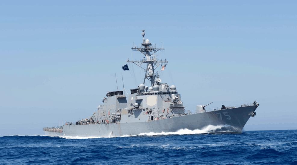 """持地区伙伴""""俄罗斯派船""""监视""""企业展示美国驱逐舰进入黑海""""支"""