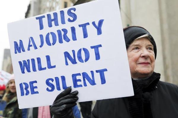 纽约举行2019妇女大游行