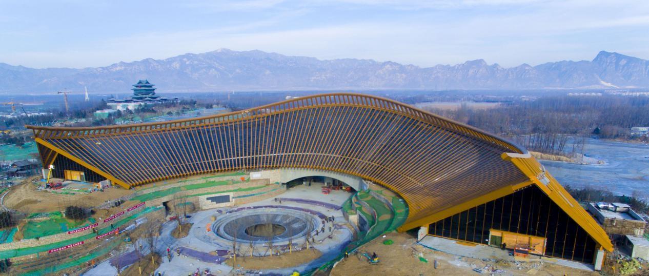 2019北京世园会开始倒计时 园区建设已进入收尾阶段