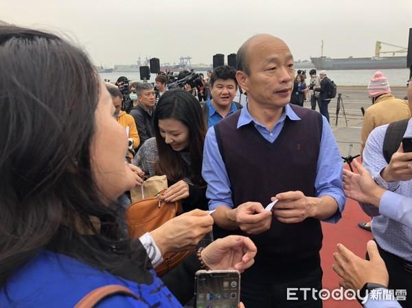 高雄2000万农产品卖到大陆 韩国瑜: