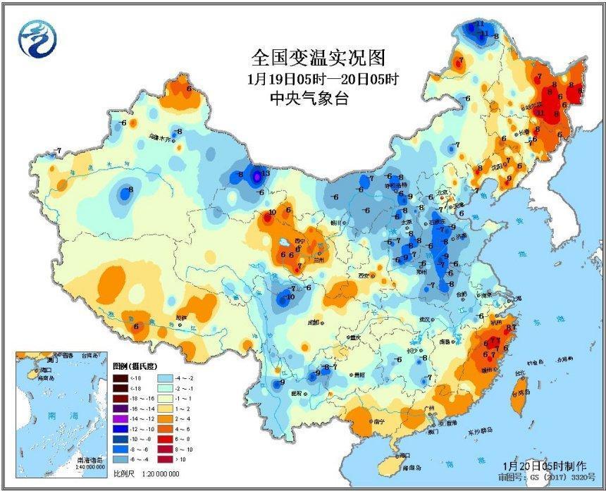 西藏西南部将有中到大雪 南方阴雨退散阳光普照