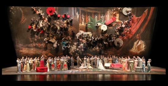 """""""爆款""""歌剧《茶花女》震撼上演 玛丽亚·穆德拉克领衔众艺术家唱响国家大剧院"""