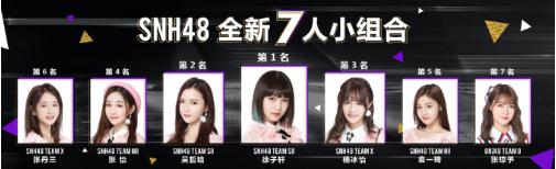 SNH48年度金曲大赏收官 姐妹团解散?