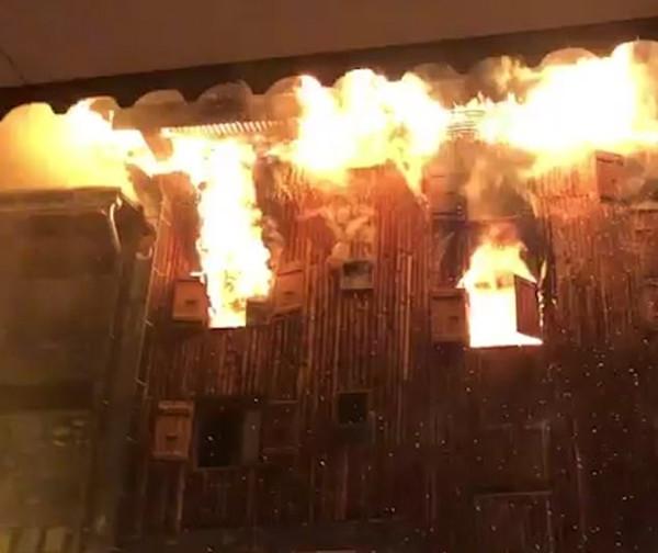 可怕!法国著名滑雪度假村遭遇大火致2死22伤