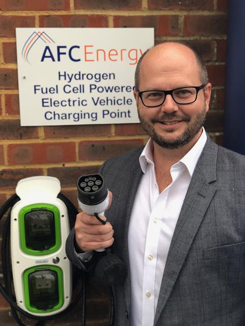 英公司研发氢燃料电池充电桩 对电网载荷无影响