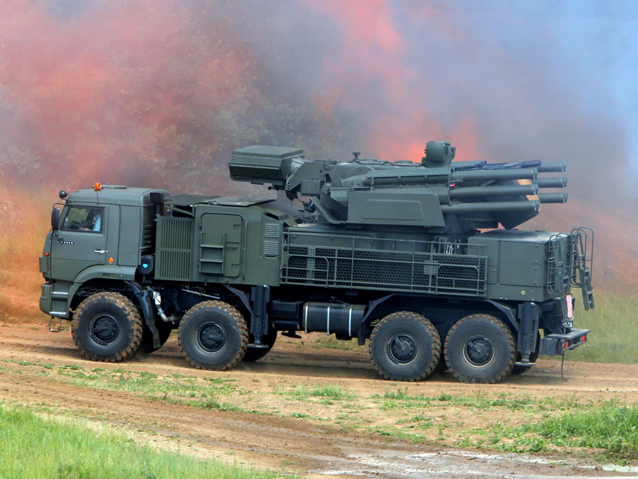 俄称叙军拦截超30枚以色列导弹炸弹 铠甲S1立功