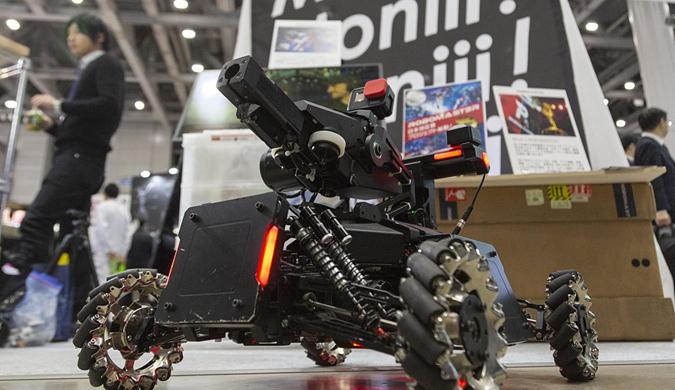 2019东京RoboDEX展览举行 美女机器人亮相