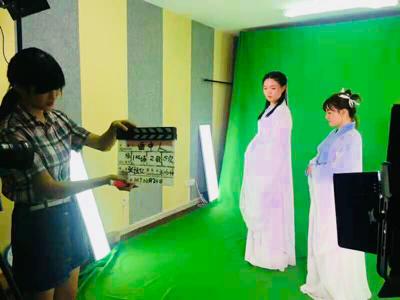 网络大电影《昆仑传说镜之莲》在北京顺利杀青