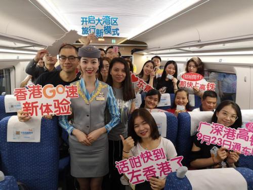 港媒:香港高铁首次加入春运 车票很抢手