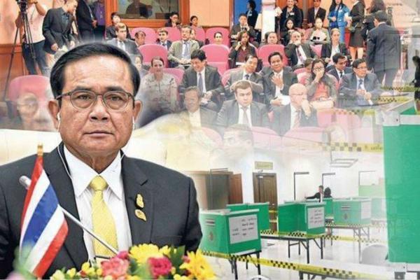 泰国大选日迟迟不公布 巴育安抚民众:耐心点
