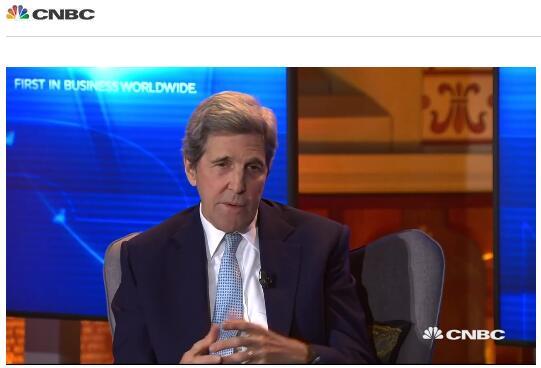 美国前国务卿克里:特朗普应该辞职