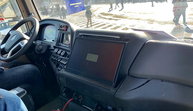无人驾驶汽车首次在济南公开路试