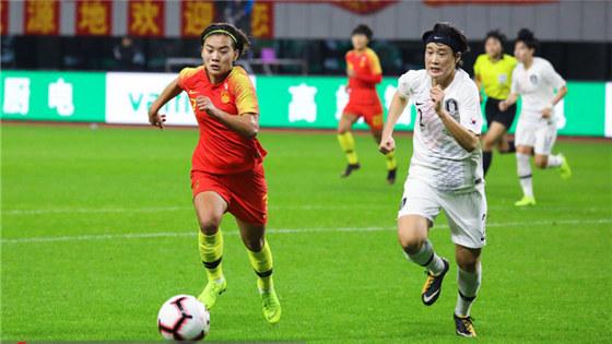 四国赛-中国女足1-0胜韩国夺冠