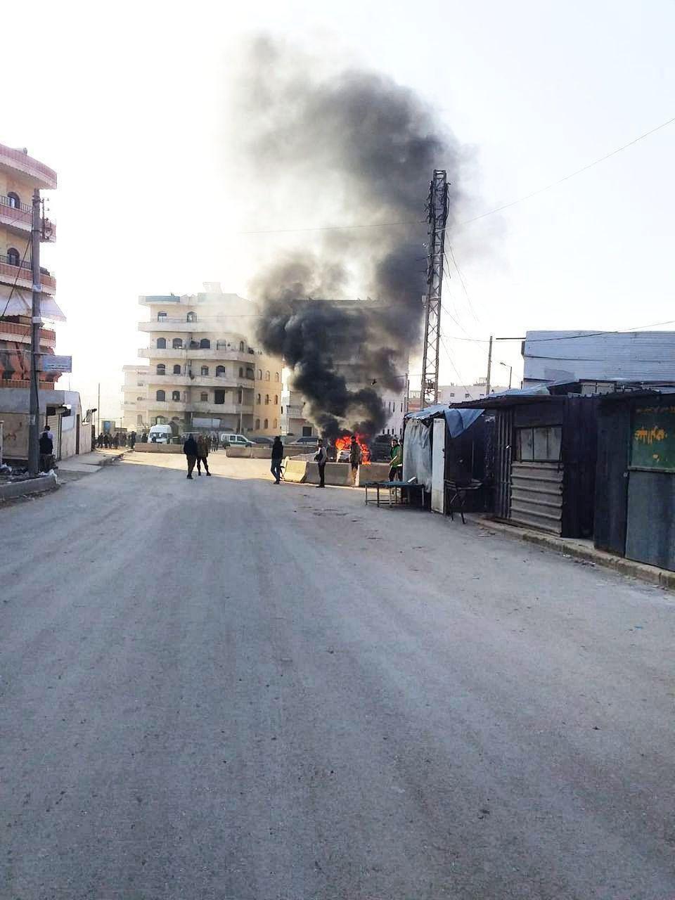 叙北部城市阿夫林发生汽车炸弹袭击 有人员伤亡