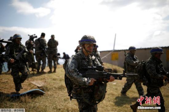 韩防长:将与美国防部商定是否如期举行联合军演