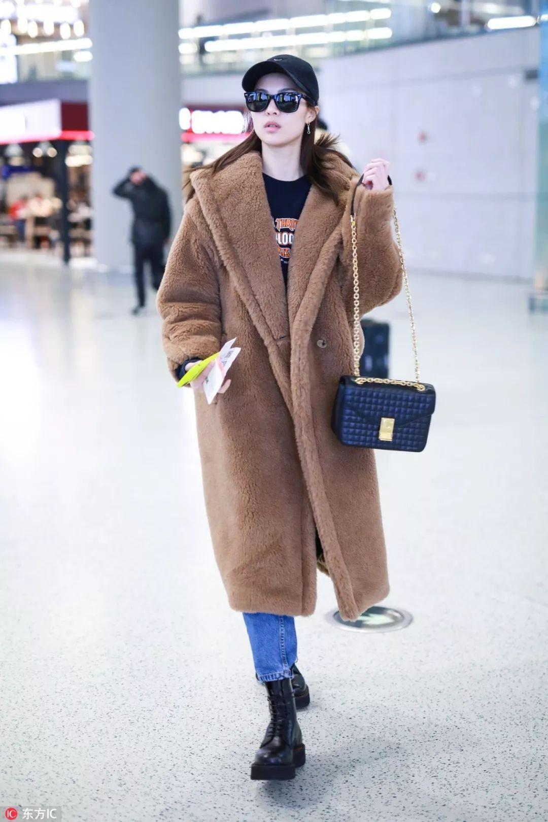 泰迪熊外套那么火,怎么穿才不撞衫?