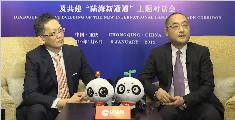 """环球网""""陆海新通道""""专访:国际化信息对接重庆 为国内企业提供更加全球化视野"""