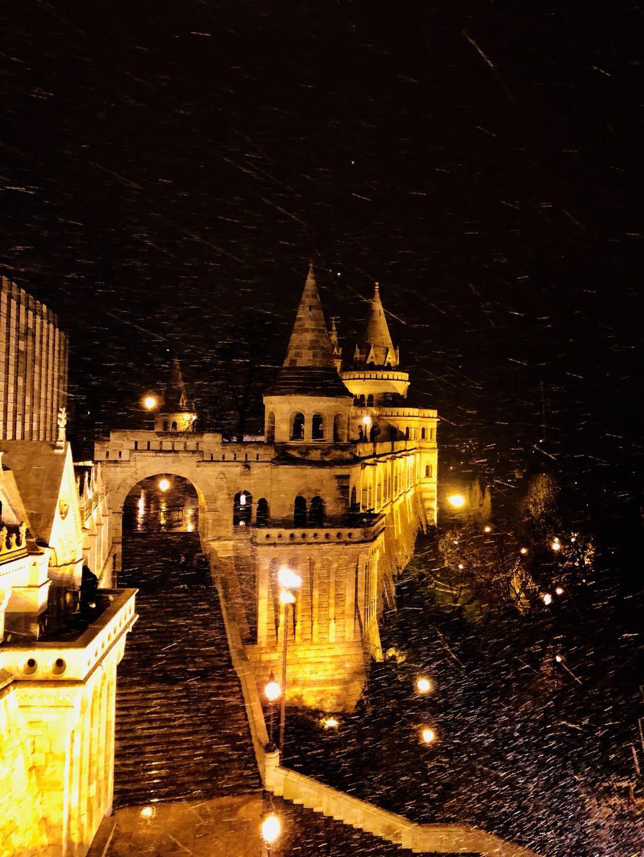 【布达佩斯印象】暖在昏黄色的灯光里