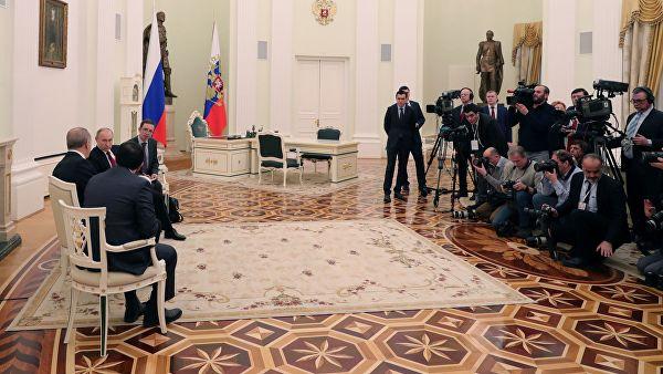 普京:美国从叙利亚撤军有助于叙局势稳定