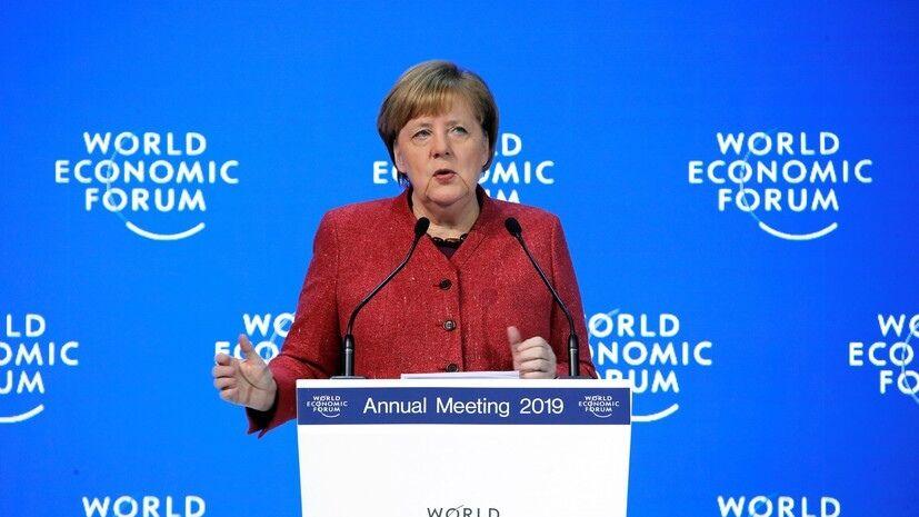 默克尔:德国将继续从俄罗斯购买天然气