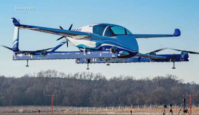 波音飞行汽车首次试飞成功 2023年拟推出飞的服务