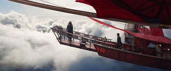 """《掠食城市》红色飞船堪称""""巧夺天工"""""""
