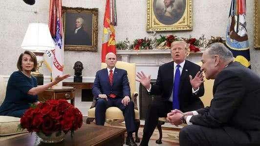 何时发表国情咨文演讲?特朗普妥协了:将在政府关门结束后