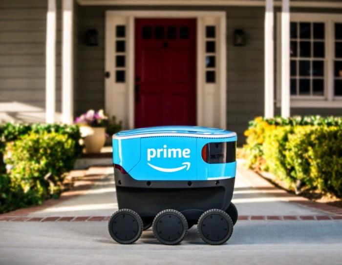 亚马逊实地测试送货机器人 解决最后一公里问题