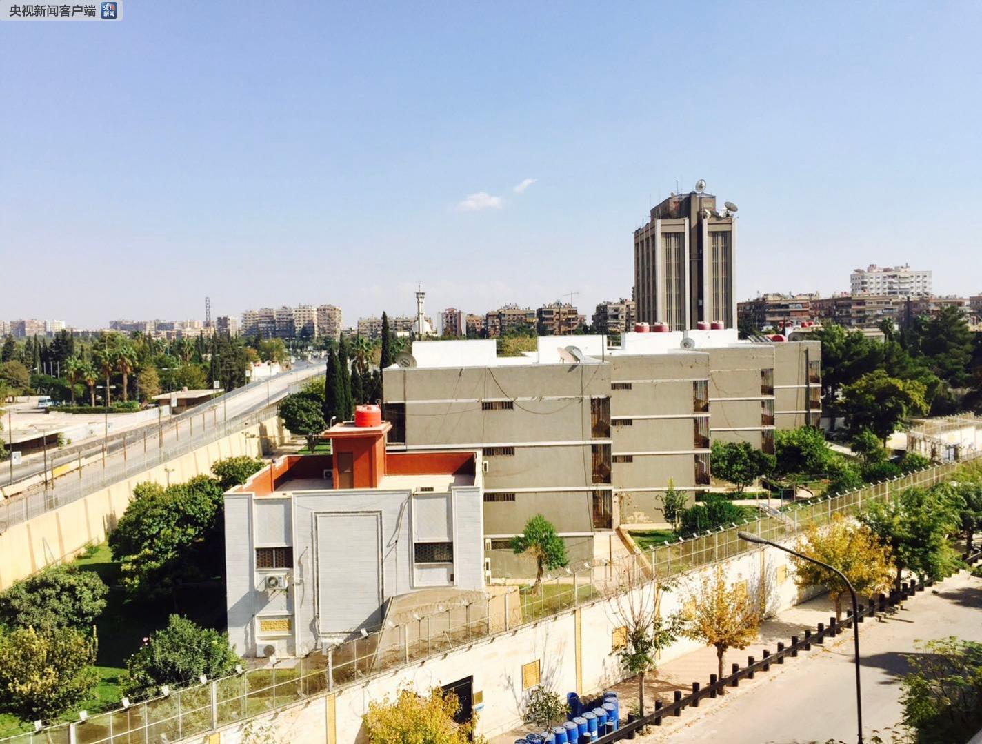 快讯!俄罗斯驻叙利亚大使馆附近发生爆炸