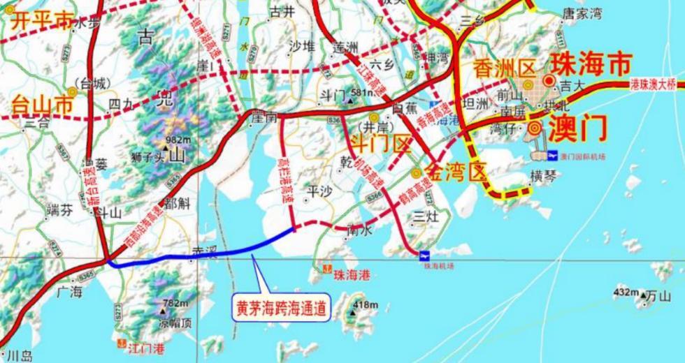 广东将新增一项重大跨海工程