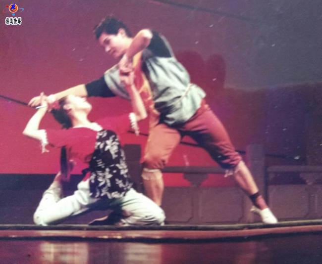 中国舞蹈家夏冰 山魂水灵舞我所爱