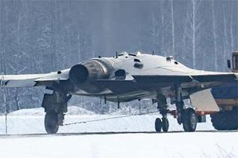 俄最先进隐形无人机细节照曝光 尾喷口清晰可见