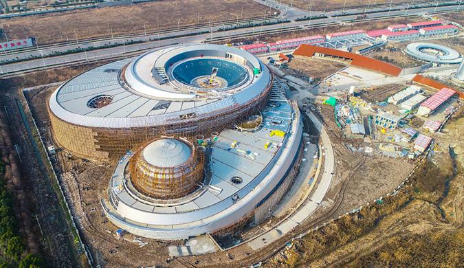 上海:全球最大天文馆主体结构建成