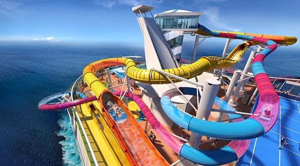 巨浪激流!美邮轮将增设世界最长水滑梯等娱乐设施