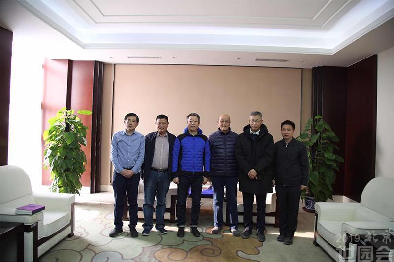 纪录片《改变世界的中国植物》总导演李成才一行赴北京世园会园区调研
