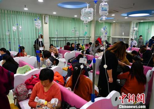 卫健委:中国处流感高峰期 南方流感升高趋势趋缓