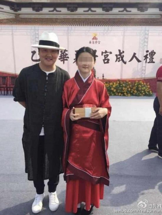 当地人爆料孙楠在徐州有别墅 家中有外籍佣人
