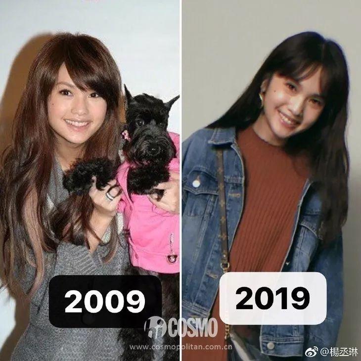 为什么杨丞琳年轻时看起来比现在凶哦