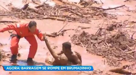 巴西一铁矿大坝爆裂,约200人失踪