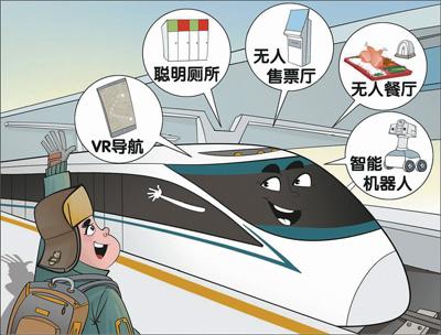 中国科技的春运秀场