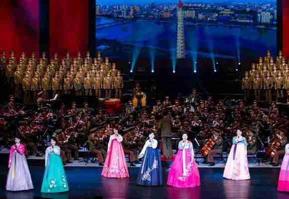 朝鲜友好艺术团首场演出在北京举行