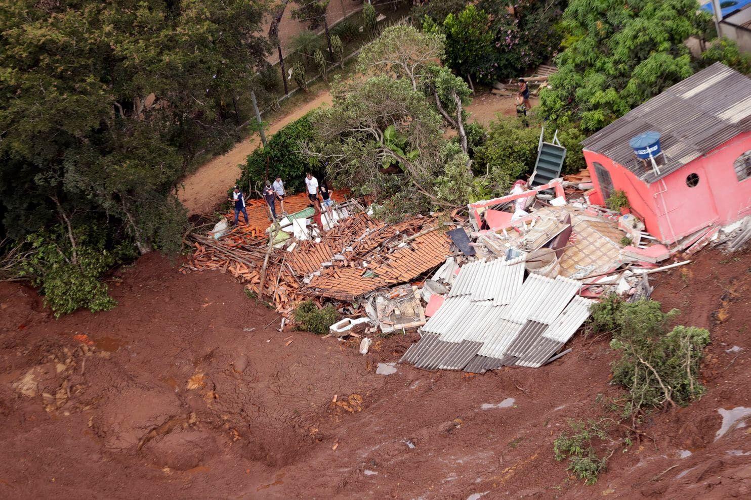 巴西矿坝决堤事故死亡人数升至40人 仍约300人失踪