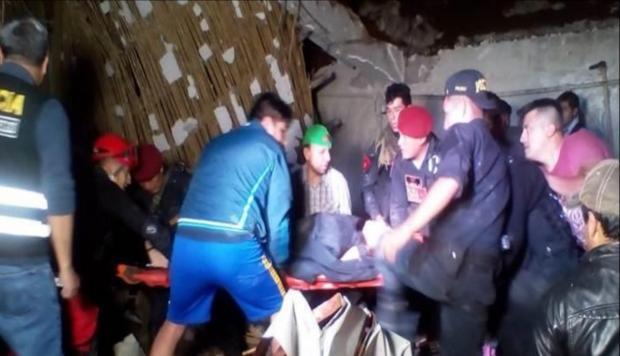 秘鲁一对新人酒店举行结婚派对时遇山体滑坡 致至少15死34伤
