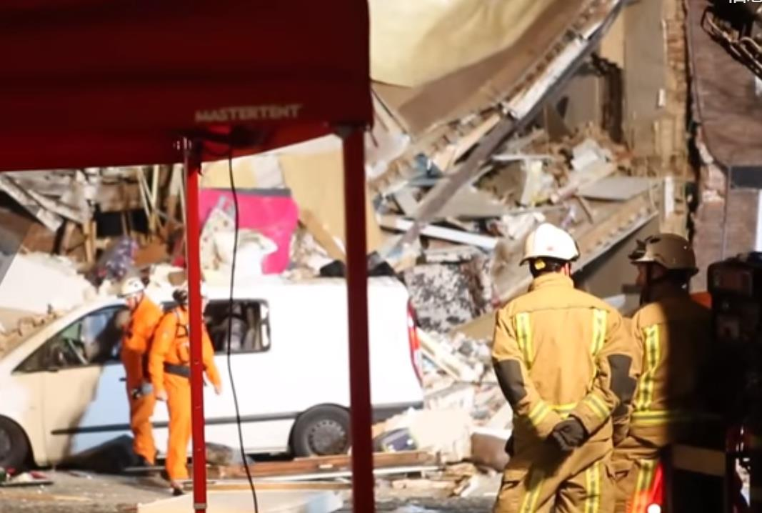 荷兰海牙一层建筑发生煤气爆炸致至少9伤 1人被困废墟