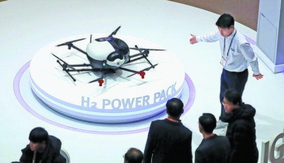 韩国研发氢电池无人机 续航时间超2小时